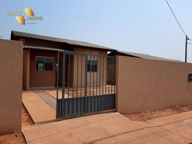 Casa com 2 dormitórios à venda, 64 m² por R$ 172.000 - Jardim Glória l - Várzea Grande/MT - Foto 14
