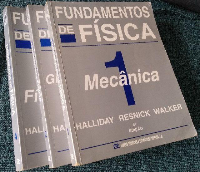 Fundamentos de Física, Halliday. Livros 1, 2, 3 e 4. Usados - Foto 3