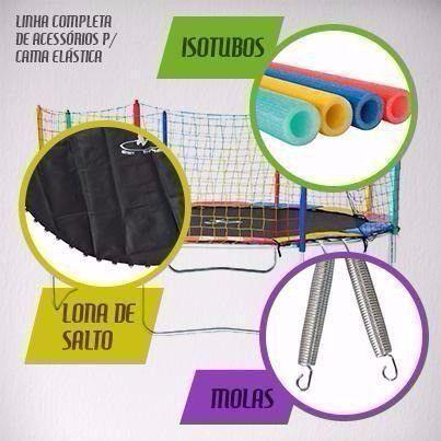Isotubos coloridos para sua cama elástica - A pronta entrega em nossa loja!! - Foto 4