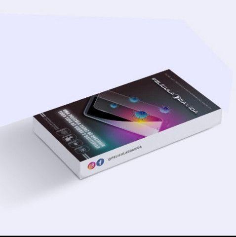 Película De Proteção Linha Samsung Frente + Brinde - Foto 2