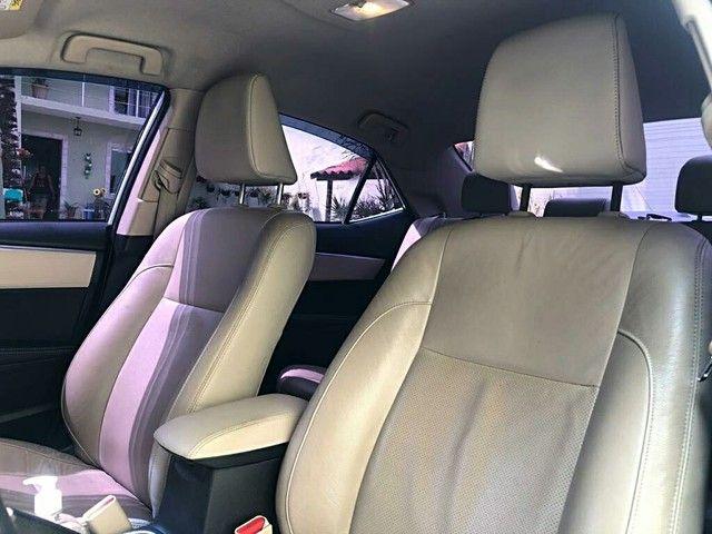 Corolla Altis 2015 c/ GNV - total procedência e impecável  - Foto 7
