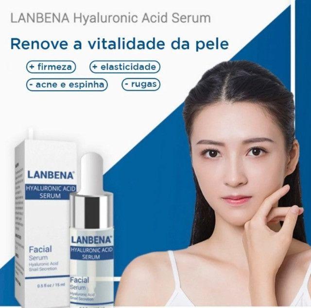 Acido Hialurônico Lanbena Serum 15ml Renovação Facial - Foto 2