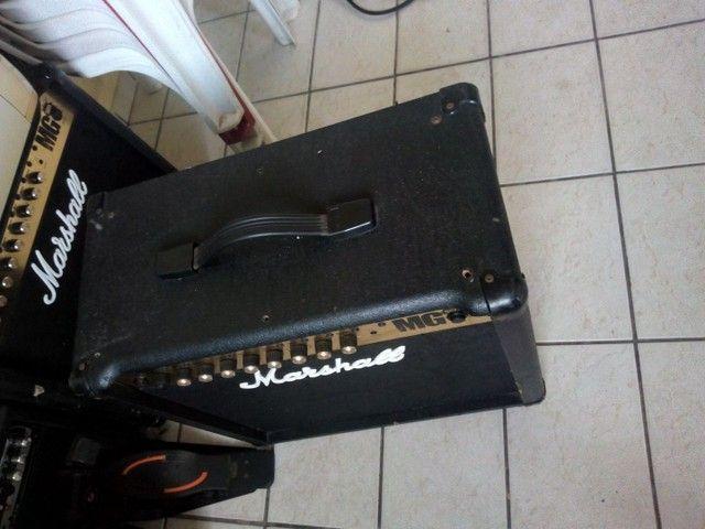 Caixa Amplificada. Marshall / Guitarra - Foto 4