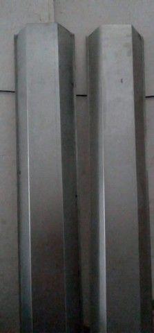 Calhas de Zinco , Alumínio , Rufos , Baldes para sua construção ! - Foto 3