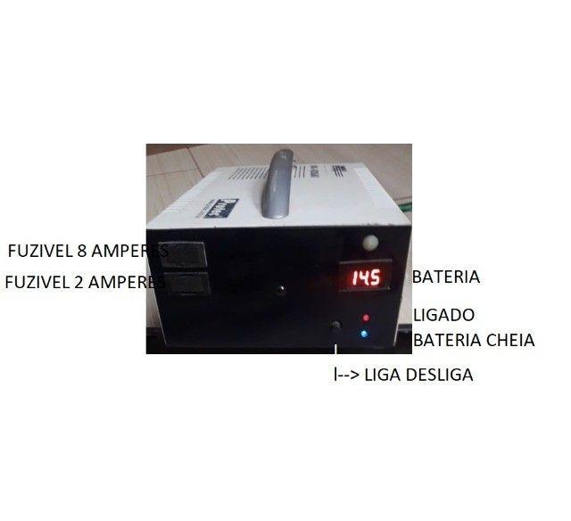 carregador de bateria 5 amperes exelente  - Foto 2