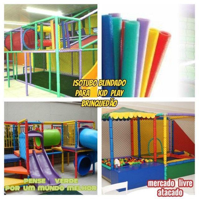 Isotubos coloridos para sua cama elástica - A pronta entrega em nossa loja!!