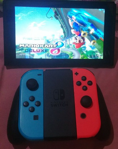 Nintendo Switch Neon Desbloqueado - Foto 3
