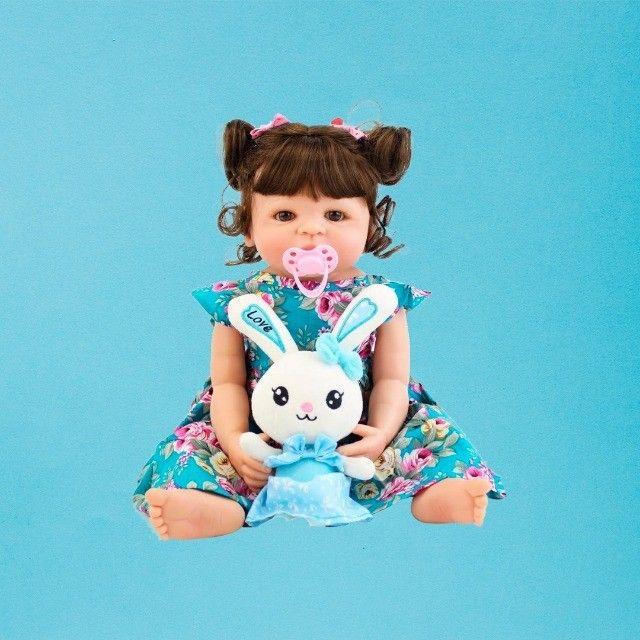 Bebês Reborn 100% silicone realista em promoção - Outros modelos a pronta entrega - Foto 5