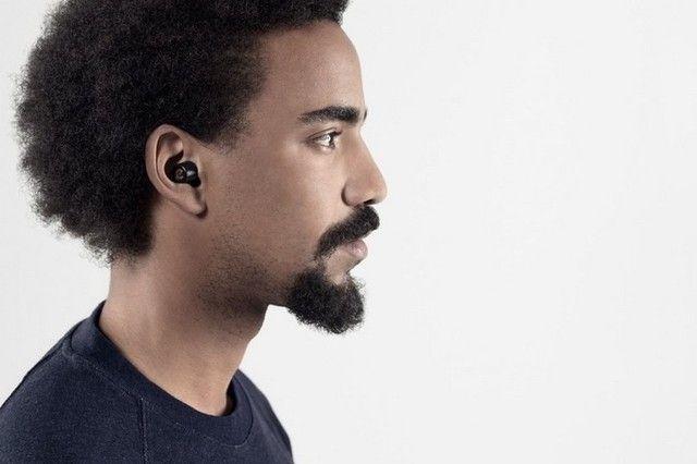Fone de ouvido sem fio, com estojo + carregador e com bluetooth  - Foto 2