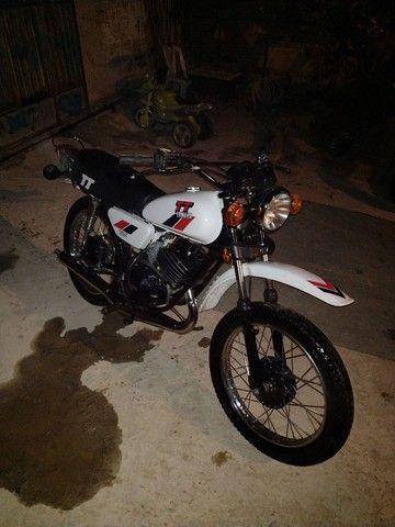 Moto Yamaha Tt125 ano 1979 - Foto 5