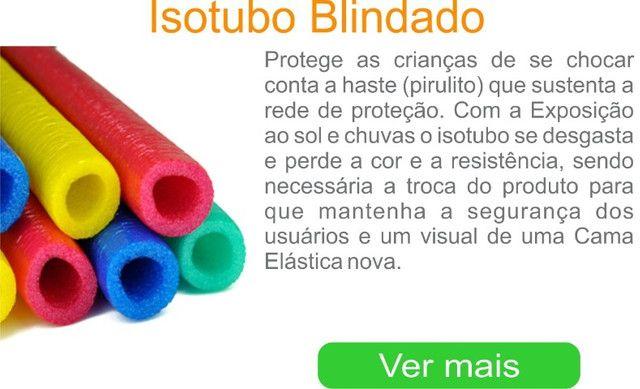 Isotubos coloridos para sua cama elástica - A pronta entrega em nossa loja!! - Foto 2