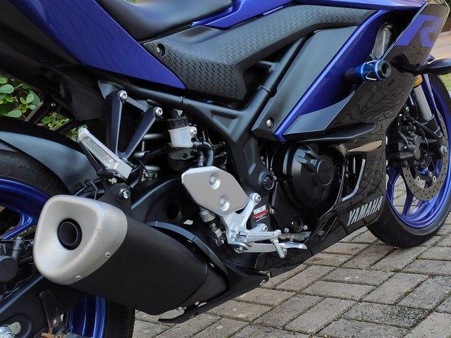 Yamaha R3 2020 2.200km ( anúncio real ) - Foto 12