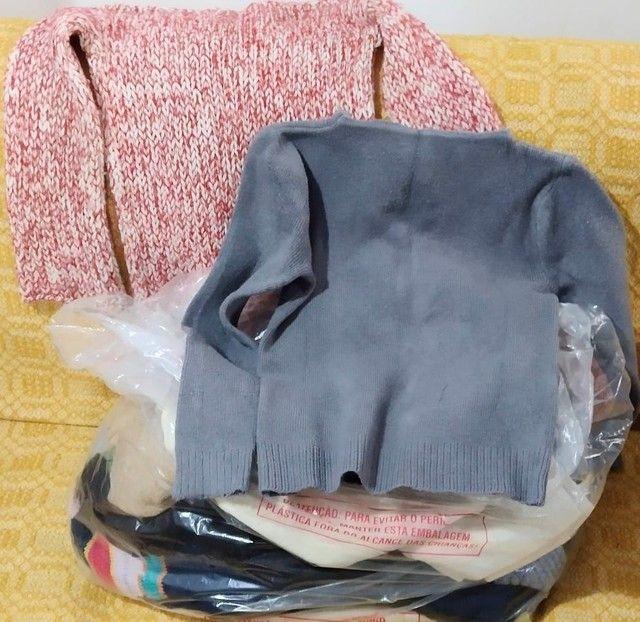 25 blusas de lã Italianas por R$80