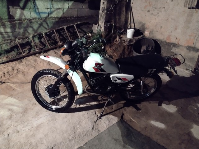 Moto Yamaha Tt125 ano 1979 - Foto 6
