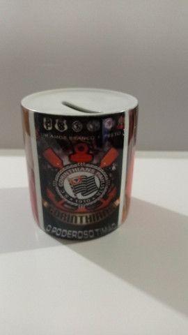 Cofrinho Cerâmica Personalizado com msg, fotos