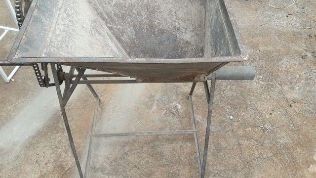 Vendo Máquina Manual de Ensacar Cimento - Foto 3