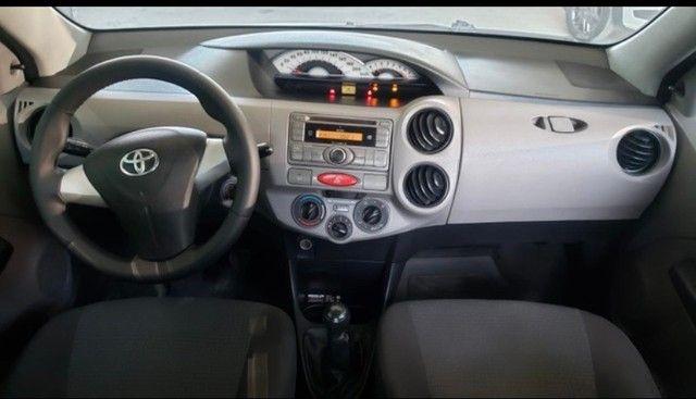 Toyota Etios 2013 1.5 x - Foto 4