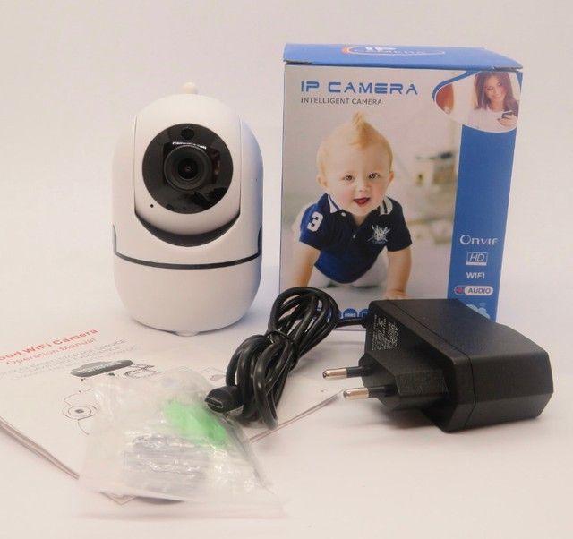 Mini Camera Ip Inteligente Robo Onvif/ Hd/ Wifi/ Audio - Foto 4
