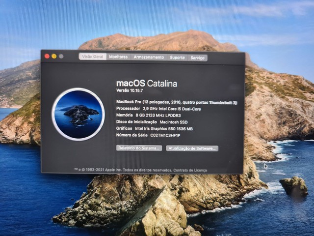 MacBook Pro Touch Bar 512Gb 8Gb RAM  - Foto 5