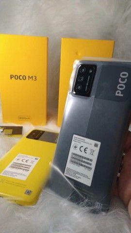 Xaiomi POCO M3 128 GB NOVO 90 DIAS DE GARANTIA! - Foto 3