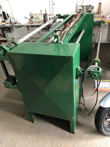 Rebobinadeira para corte de TNT, laminados plasticos e outros - Foto 5