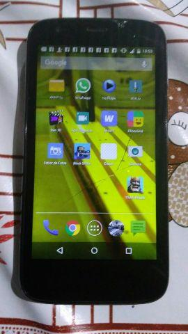 Moto g 1 tela quebrada e o core plus