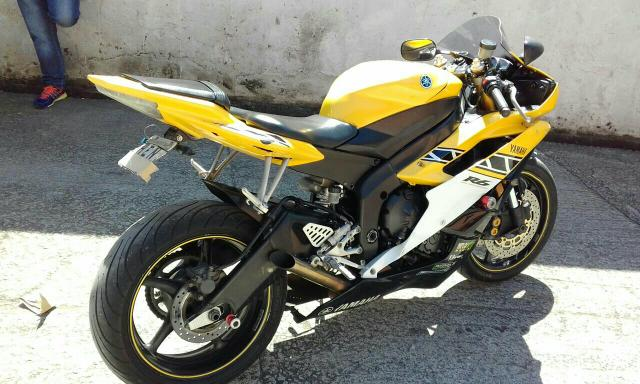 moto yamaha r6 600cc 2006 motos parque imperial s o paulo olx. Black Bedroom Furniture Sets. Home Design Ideas