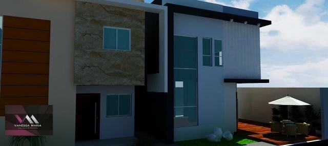 Casa estilo duplex com 3 quartos em Campina Grande
