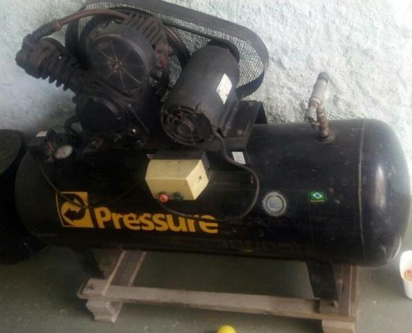 Compressor Pressure 200 litros 20 pés