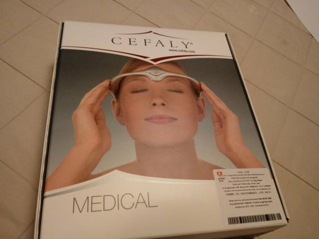 Cefaly Neuro Medical - tratamento das cefaléias e enxaquecas