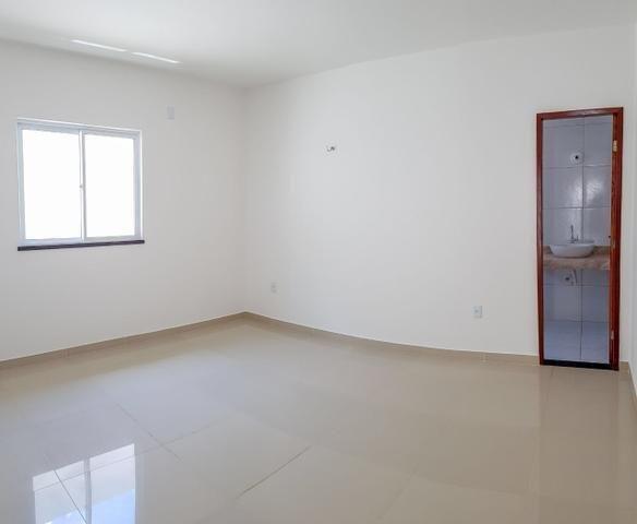 Casas planas no eusébio, 3 quartos 2 vagas shopping - Foto 5