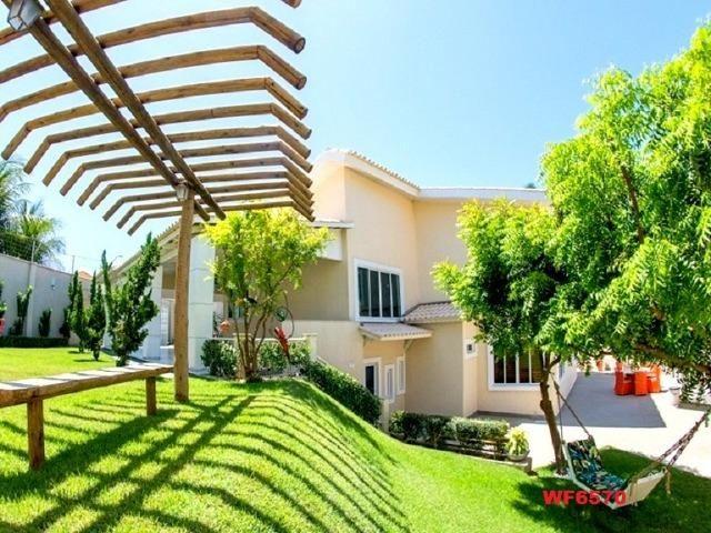Mansão com 5 suítes, casa duplex, projetada e mobiliada, 7 vagas, rua privativa, Sapiranga - Foto 17