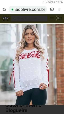 b87fef35c2 Blusas de Frio Coca-Cola - Roupas e calçados - Jardim Novo Campos ...