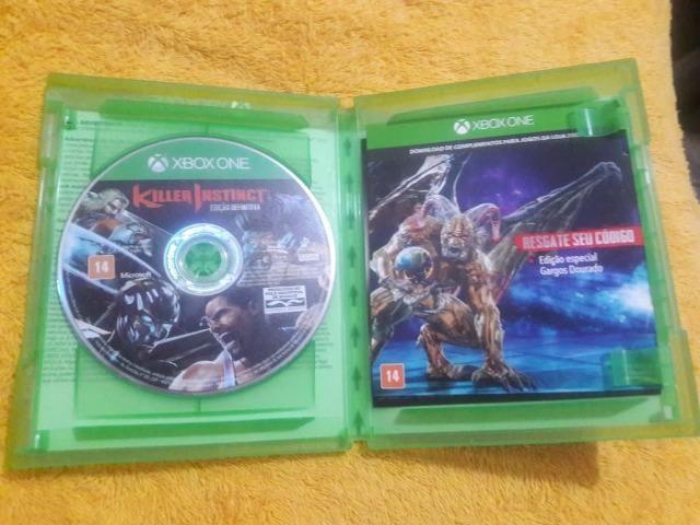 Killer Instinct Definitive Edition Xbox One Mídia Física - Foto 2