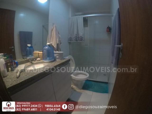 Apartamento para venda em maceió, farol, 3 dormitórios, 1 suíte, 1 banheiro, 2 vagas - Foto 8