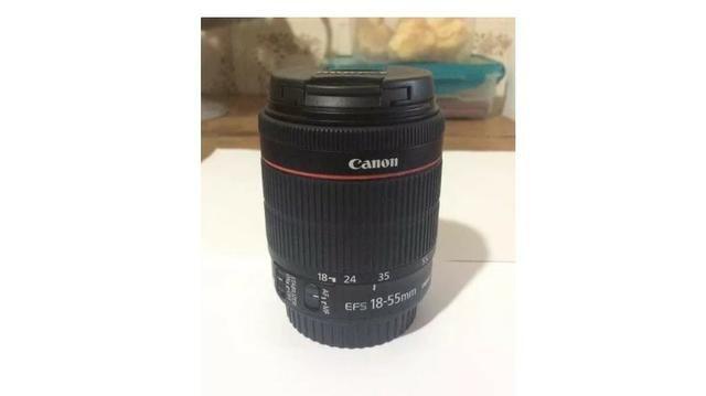 Câmera Digital Canon Dslr + Lentes + Flash 2800 clicks - Foto 5