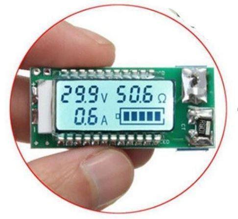 COD-AM306 18650 26650 Lithium Li-ion Bateria Tester Lcd Medidor Tensão Arduino