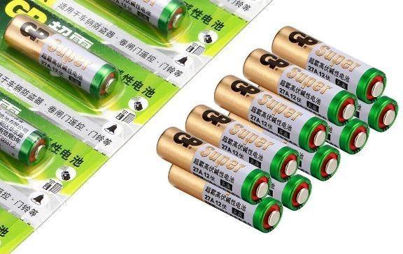 COD-CP350 Bateria Mini Pilhas Alcalina Gn A27 27a 12v Arduino Automação Robotica