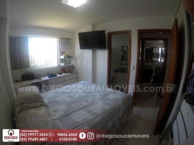 Apartamento para venda em maceió, farol, 3 dormitórios, 1 suíte, 1 banheiro, 2 vagas - Foto 13