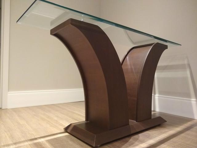 Mesa de vidro com 6 cadeiras + aparador - Foto 4