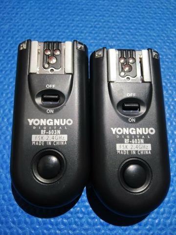 Rádio flash Youngnuo para Nikon - Foto 4