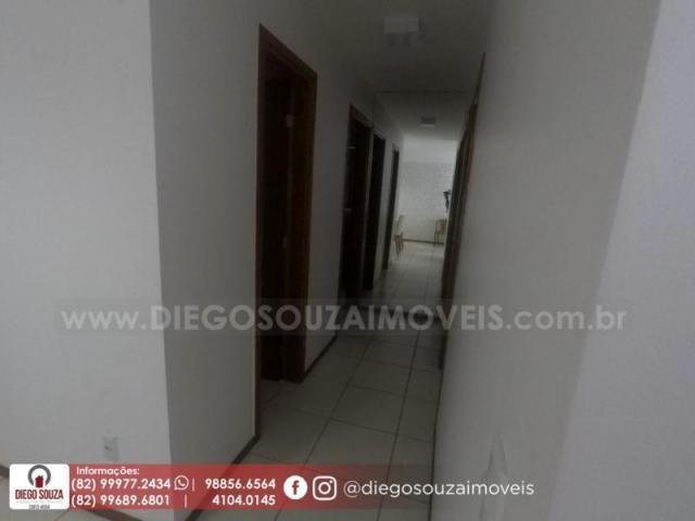 Apartamento para venda em maceió, farol, 3 dormitórios, 1 suíte, 1 banheiro, 2 vagas - Foto 7
