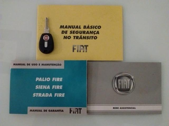 Siena Celebration Fire Flex 1.0 - 2009 - Única Dona - 76.000 km originais - Foto 6