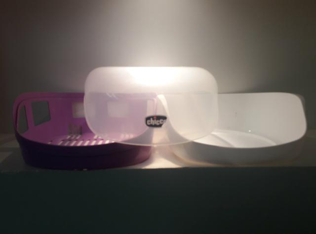 Esterilizador de mamadeiras original CHICCO - Foto 3