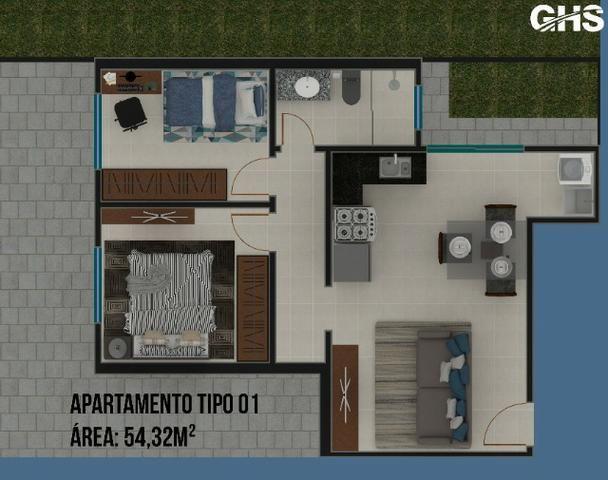Apartamentos em construcao, bairro cercadinho, cidade campo largo entrada facilitada - Foto 8