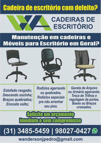 Manutenção em Cadeiras e Móveis para Escritório!