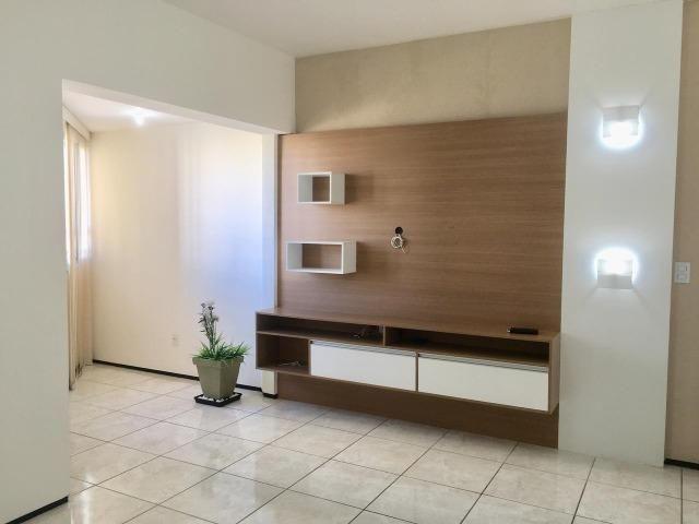 Apart. 100% projetado no Cocó, 101m², 3 quartos, 3 banheiros, DCE, Área de Serviço