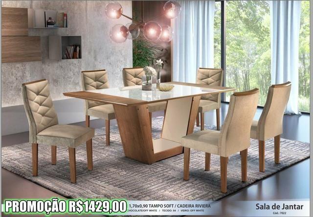 Super Promoção - Sala de Jantar em Laica - Foto 2