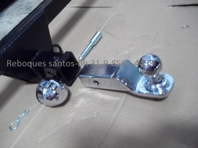 Engate-reboque caminhontes fixo e removivél - Foto 6