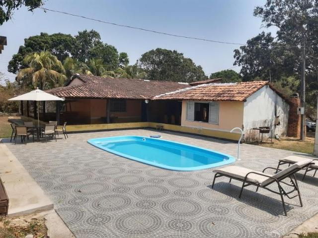 Chacara com piscina privativa no coxipo do ouro venda ou troca!!